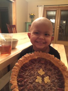 She was so proud of her first pie