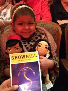 First Broadway show Aladdin